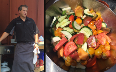 Stephen Starr Chef Jason Goodman Visits MoGreena